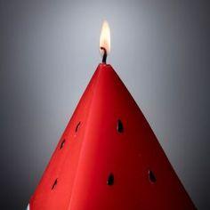 Melancia por todo o lado #2 in Alone with a Paper  Luminárias e Velas  *Clique para ver post completo*