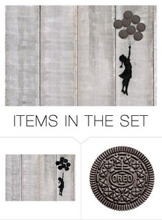 """""""Oreos again..."""" by juliehalloran ❤ liked on Polyvore featuring art"""