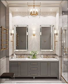 Find other ideas: Kitchen Countertops Remodeling On A Budget Small Kitchen Remodeling Layout Ideas DIY White Kitchen Remodeling Paint Kitchen Remodeling Before And After Farmhouse Kitchen Remodeling With Island feasthome kitchen kitchendesign Dream Bathrooms, Beautiful Bathrooms, Modern Bathroom, Gold Bathroom, Bathroom Mirrors, Beautiful Kitchen, Marble Bathrooms, Awesome Kitchen, Vanity Mirrors