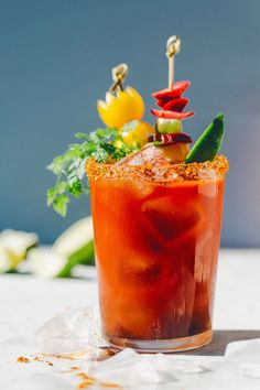 how to make a healthy caesar drink
