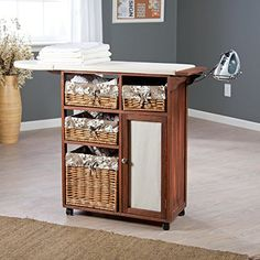 Deluxe Wood Wicker Ironing Board Center with Baskets Showtime http://www.amazon.com/dp/B00CBM2WQ0/ref=cm_sw_r_pi_dp_Ei7qvb1JYYCW1