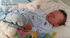 Reborn- Baby (Reallife)  LEVI  nach lim. Bausatz Heike Kolpin