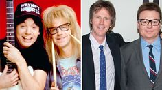 """Wayne's World"" was an unexpected runaway hit when it came out on Valentine's Day in 1992, eventually earning $183 million worldwide to become the eighth highest grossing film of the year. But back when Mike Myers (Wayne Campbell) and Dana Carvey (Garth Algar) were making the classic comedy, they were unsure … about a lot of things."