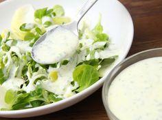 Joghurtos salátaöntet recept