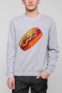 Eleven Paris Fast Food Hotdog Pullover Sweatshirt