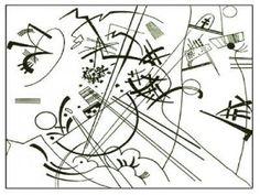 ACTIVITE - Coloriage œuvre de Kandinsky