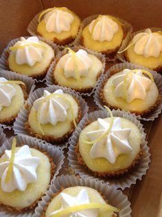 Mini Lemon Tarts #bakeshopoakland #mini http://www.bakeshopoakland.com/