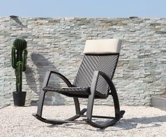Outdoor rocking chairs may be made using several types of metals, woods, wicker, or resin. But there are only certain types of materials that will make the furniture piece look attractive and last long. Wicker Rocking Chair, Outdoor Rocking Chairs, Small Accent Chairs, Accent Chairs For Living Room, Wooden Adirondack Chairs, Balcony Table And Chairs, Outdoor Furniture, Outdoor Decor, Exterior Design