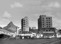 a Sixties view of this well loved beacon in Cape Town that lost its battle against progress in the early eighties.Just about everybody in C.T. loved this place,and many a nostalgic tale can be told. This photo was kindly supplied by fellow Flickr member HiltonT from the U.K. He has a treasure trove of old S.A. images from the 50's and 60's here www.flickr.com/photos/63154252@N00/collections/7215762191... Well worth a visit!