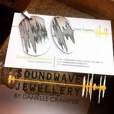 His and Hers Soundwave Pendants is stainless steel www.soundwavejewellery.com #forhim #forher #steeljewelry #custom #oneofakind  https://flic.kr/p/AjLdQ6 |
