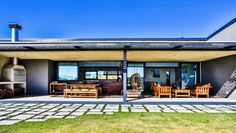 Industrial House, Modern Industrial, Outdoor Spaces, Outdoor Living, Outdoor Decor, Sustainable Design, Facade, Living Spaces, Building