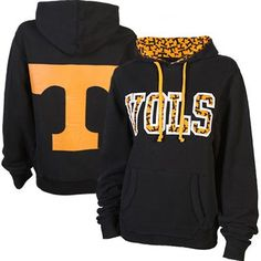 Tennessee Volunteers Ladies Olivia Pullover Hoodie – Black