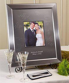 #weddingstart #contest Titanium Inscrib-able Signature Keepsake Mat Kit