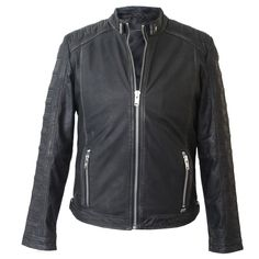 Marc Leather Jacket Black