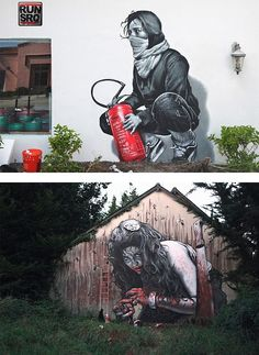 StreetArt By French Street Artist MTO
