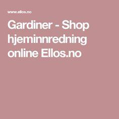 Gardiner - Shop hjeminnredning online Ellos.no Shopping