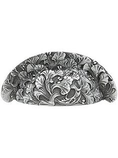 Ginkgo Bin Pull With Choice of Finish Drawer Handles, Drawer Pulls, Antique Hardware, William Morris, Knobs And Pulls, Things To Come, Leaves, Cabinet Knobs, Antiques