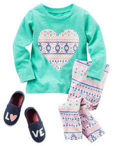 null pour bébés filles   Carter's OshKosh Canada Little Girl Closet, Little Girl Outfits, Toddler Girl Outfits, Little Girl Fashion, Toddler Fashion, Kids Outfits, Kids Fashion, Baby Kids Clothes, My Baby Girl