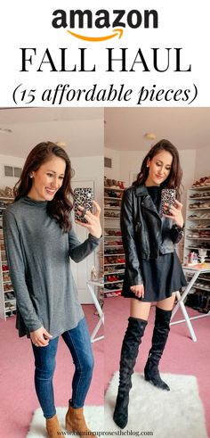 Sweater Dress Outfit, Jumpsuit Outfit, Casual Jumpsuit, Dress Casual, Dress Shirt, Autumn Winter Fashion, Autumn Fashion, We Wear, How To Wear