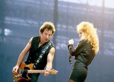 Bruce and Patti, 1988