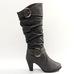 grey boots for fall?