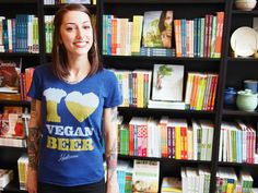 Women's I Heart Vegan Beer Tee - The Herbivore Clothing Co. Vegan Gifts, Vegan Lifestyle, Clothing Co, Tank Man, Beer, T Shirts For Women, Tank Tops, My Style, Gift Guide