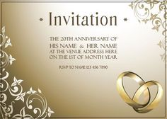 AI_008 Anniversary Invitations, 20th Anniversary, Rsvp, Invite, Monkey, Place Cards, Place Card Holders, Names, Decor