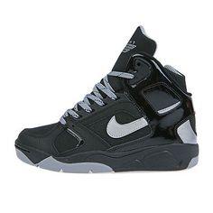 Nike Flight Lite Gs Big Kids 685408-004 Black Grey Shoes Sneakers Youth Size 6