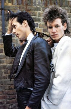 Peter Murphy & Daniel Ash. I don't know how to describe how I feel about this picture but I like it.