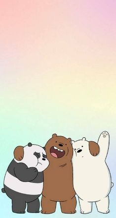 Purple Wallpaper Iphone, Cartoon Wallpaper Iphone, Disney Wallpaper, Galaxy Wallpaper, We Bare Bears Wallpapers, Panda Wallpapers, Cute Cartoon Wallpapers, Cute Panda Wallpaper, Bear Wallpaper
