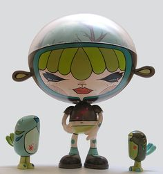 Julie West custom Rolito figure
