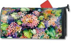 Tropical mailbox landscape | Magnetic Mailbox Covers