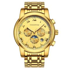 113.50$  Buy now - http://aliih3.worldwells.pw/go.php?t=32722911048 - VIUIDUETURE Watches Men Automatic Mechanical Watch Self-Wind Big Dial Full Steel Clock Men Business Wristwatches Relogio Watch 113.50$