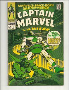 Captain Marvel No. 3 - Marvel Comics Group - July 1968