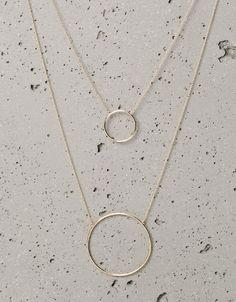 Collares esfera geométricos - Bisutería - Bershka España