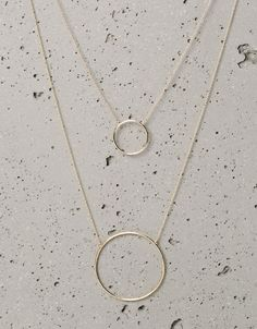 Bershka Croatia - Geometric spheres necklaces