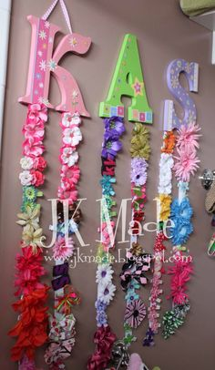 Hair Bow Holder easy project