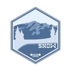SNOW Terrain Decal