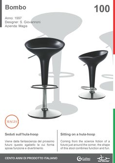 Bombo by Stefano Giovannoni for Magis (1997) #stool #seat #furniture