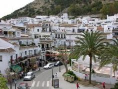 The Village of Ojen, Andalucia, Spain