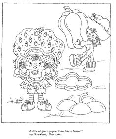 Strawberry Shortcake's Storybook to Colour