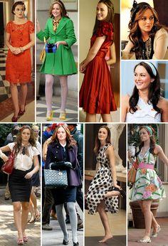Gossip Girl Blair, Moda Gossip Girl, Estilo Gossip Girl, Blair Waldorf Gossip Girl, Gossip Girls, Pelo Blair Waldorf, Blair Waldorf Outfits, Blair Waldorf Style, Fashion Tv