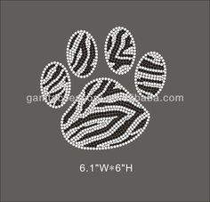 bling counselor shirt designs | Bling_Pawprint_rhinestone_transfer_design_for_t.jpg