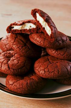 Inside Out Red Velvet CookiesDelish