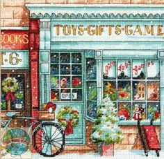 old fashion toy store front - Google Search