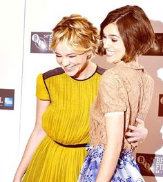 carey mulligan and kiera knightly, british beauties