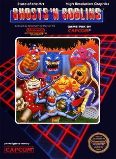 Ghosts 'n Goblins, NES.
