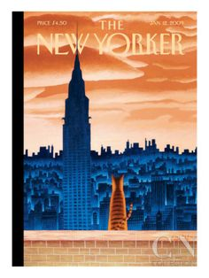 The New Yorker Cover - January 12, 2009 Poster Print by Mark Ulriksen at the Condé Nast Collection