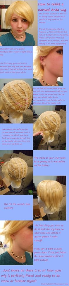 How to Re-size a Wig Smaller | Arda Wigs
