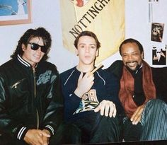 MJ with RDJ and Q